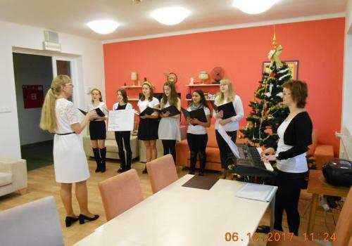 Vánoční vystoupení pěveckého sboru Gajdošík