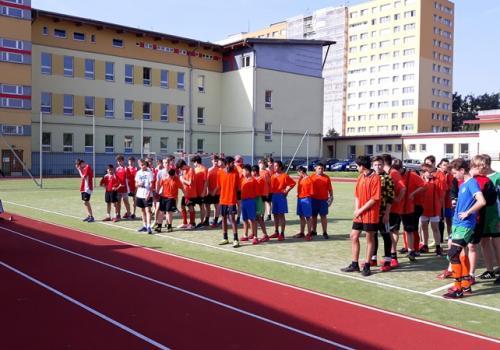 Fotbalový turnaj o pohár MOaP